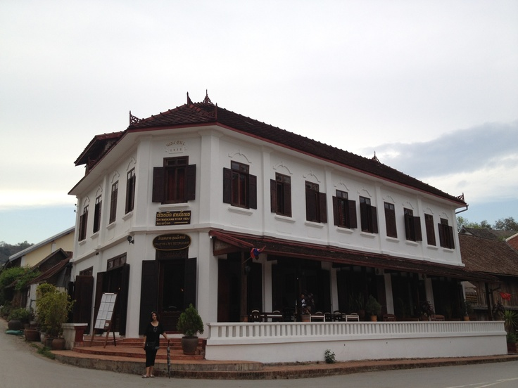 The french influence, Luang Prabang, Laos