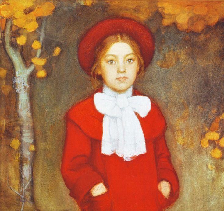 Leena, Taiteilijan Tytär - Eero Järnefelt - Finland - 1903 AD