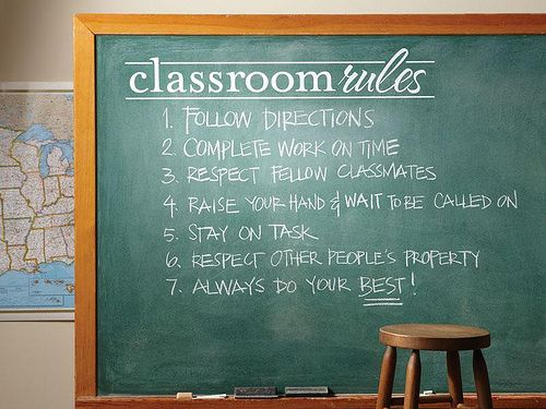 17 Best Images About Classroom Rules That Work On