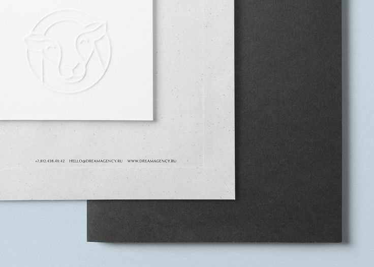 Dream Agency on Behance Design, identity, logo, luxury, premium, simple, minimalistic, black, sheep, branding, corporate, agency, event, typography, classic