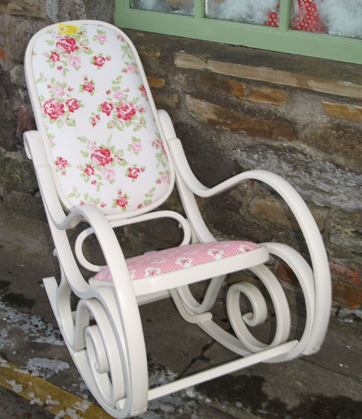 Bentwood Restored and Upcycled Wooden Rocking Chair