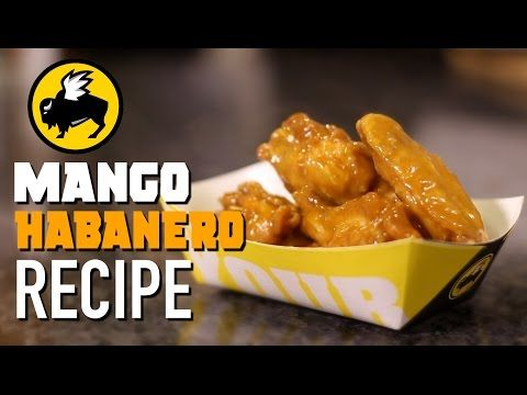 HOW TO MAKE Buffalo Wild Wings MANGO HABANERO | HellthyJunkFood - YouTube
