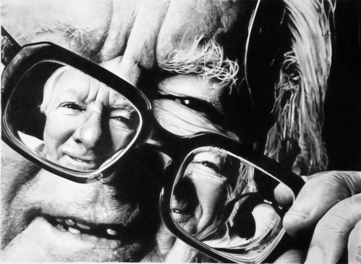 Потрясающие картины простым карандашом Franco Clun