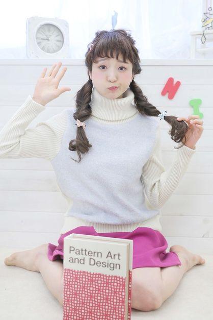☆sCene est☆フィッシュボーンツインテール | 茨木の美容室 sCene ESTのヘアスタイル | Rasysa(らしさ)