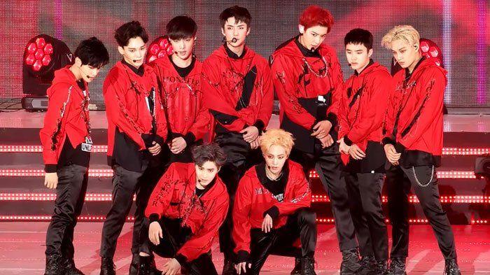 Kurang dari 24 Jam Rilis, Album 'The War' EXO Rajai 7 Chart Musik Korea
