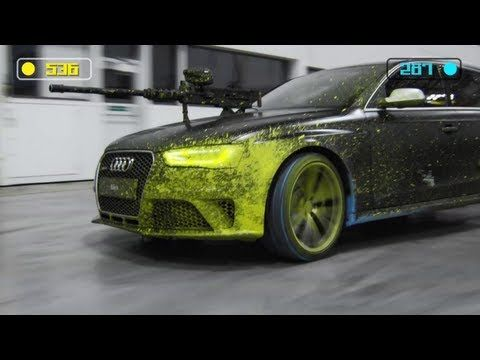 Audi RS4 Avant 2013 - The Ultimate Paintball Duel