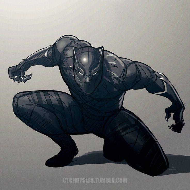 Black Panther by dCTb.deviantart.com on @DeviantArt