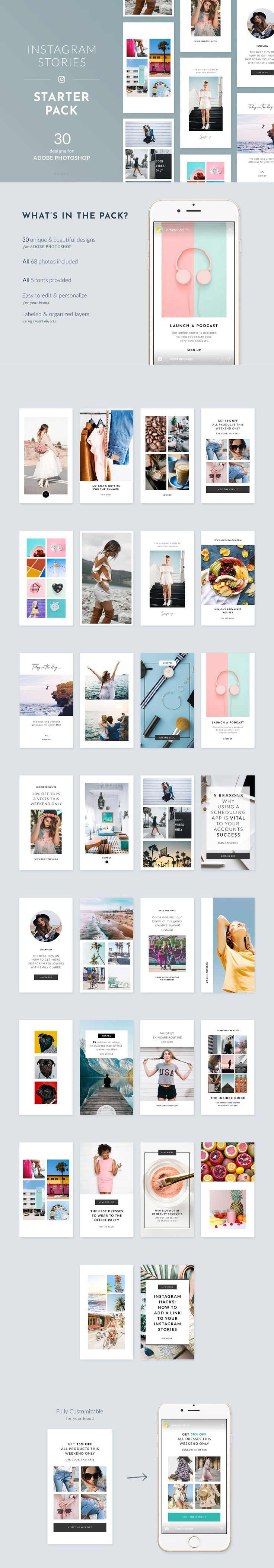 medium resolution of instagram stories starter pack