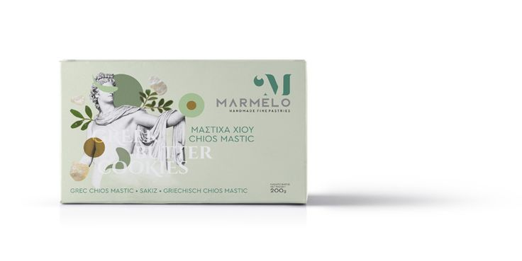 MARMELO - CHIOS MASTIC GREEK BUTTER COOKIES