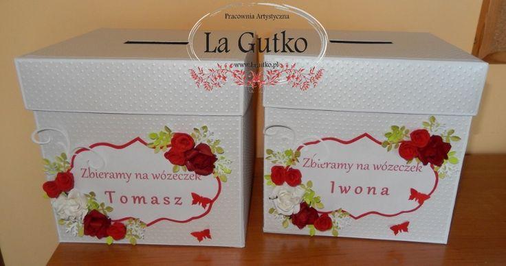 Pudełka na oczepiny, Więcej na www.facebook.com/pracownialagutko
