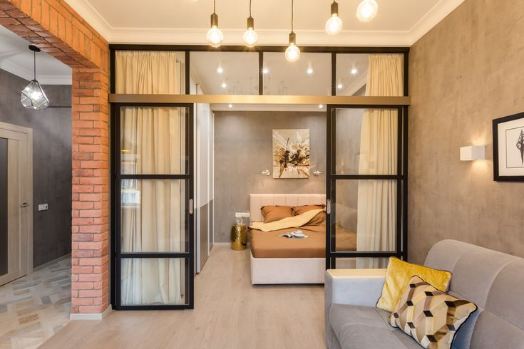 Маленькая и уютная квартира в стиле лофт: проект в Химках
