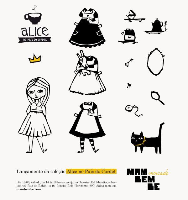 Alice no País do Cordel on Behance