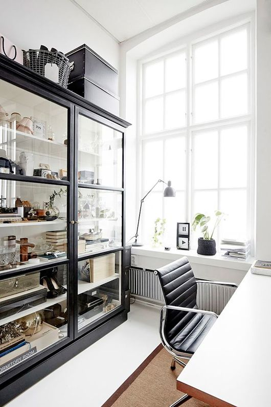 Home office. Modern with a retro twist. utilitarian.