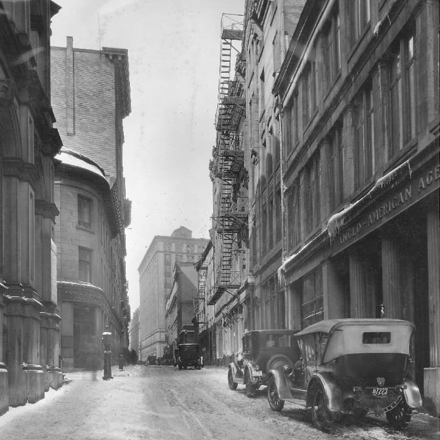 La Rue Saint Francois Xavier En Mars 1926 Archives De Montreal