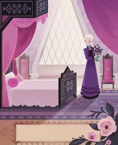 Brittney Lee, Frozen Bedroom, Elsa