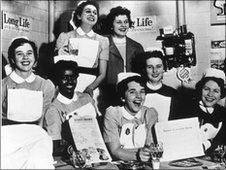Selly Oak Hosp nurses 1950's