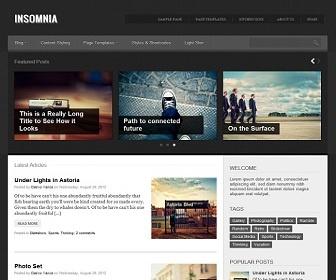 Insomnia Blogger Template