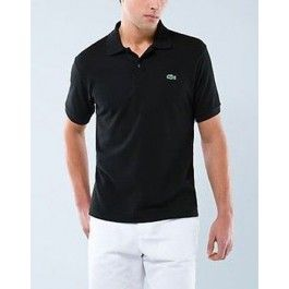 Men Polo Shirt, Short Sleeve, Black Color