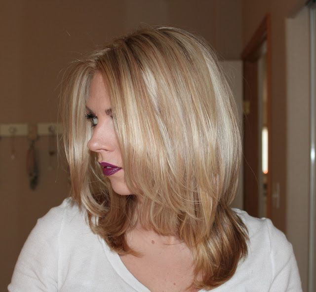 Blonde Hair With Caramel Lowlights 107