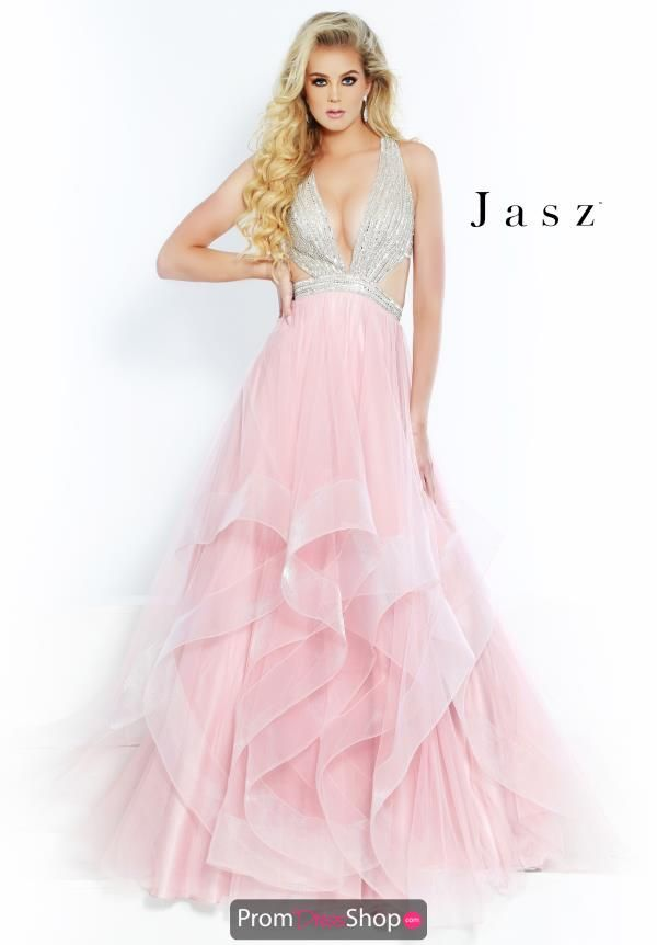 Winterjas Kind 2019.Jasz Couture Flowing A Line Dress 6510 2019 Jasz Couture Prom