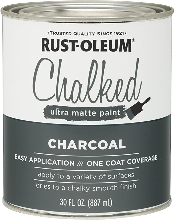 Rustoleum Charcoal : rustoleum, charcoal, Rust-Oleum, 285140, Ultra, Matte, Interior, Chalked, Paint, Linen, White, Amazon.com, Rustoleum,, Chalk, Paint,