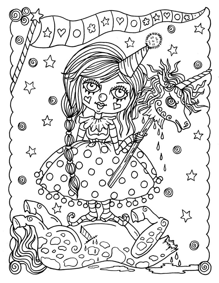 Misfits Digital Coloring Book PDF Printable Coloring pages