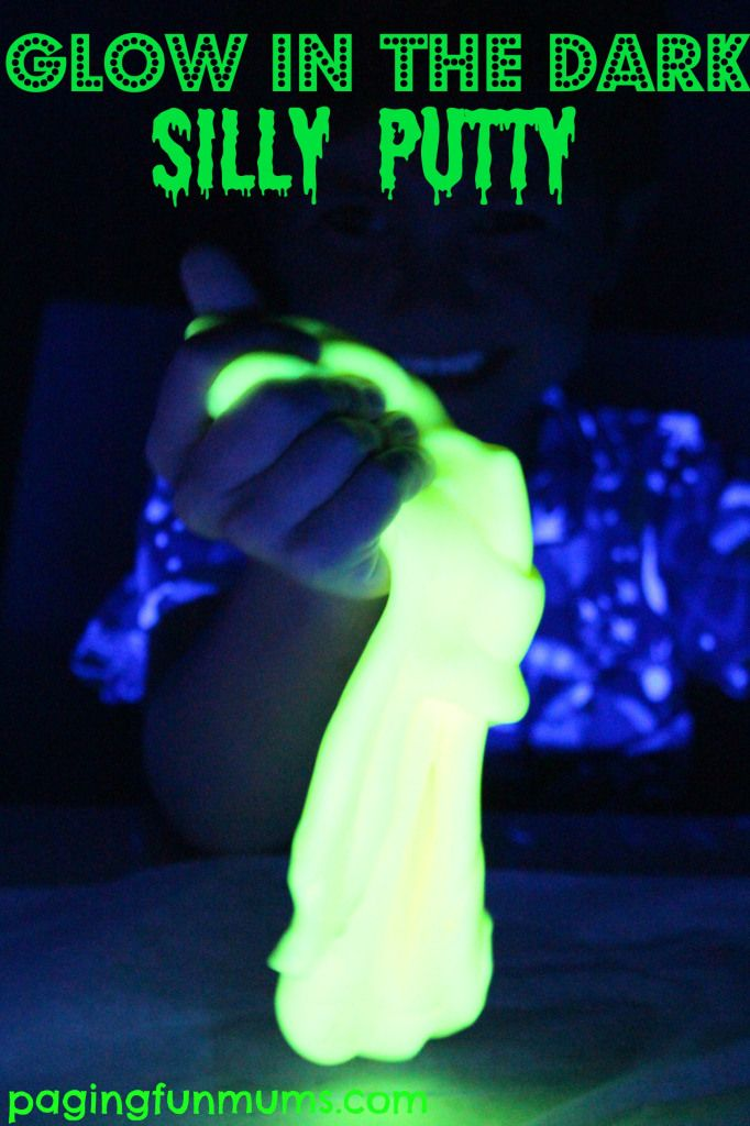 Glow in the Dark Silly Putty! Awesome Fun for kids of all ages!