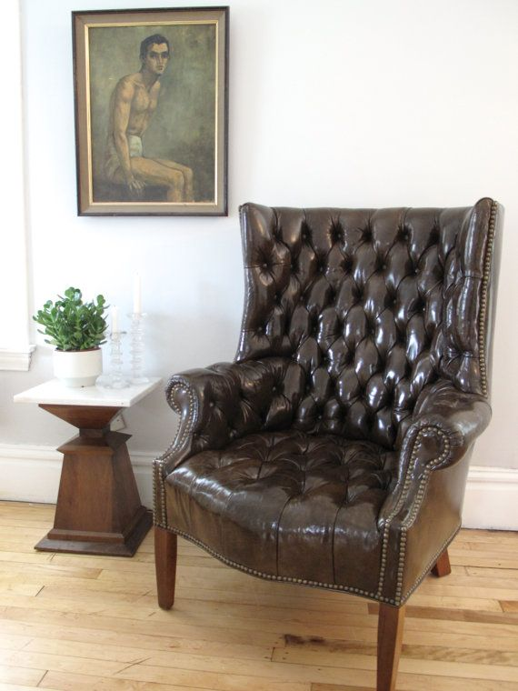 Superb Best 25+ Leather Wingback Chair Ideas On Pinterest | Chesterfield, Leather  Chesterfield Chair And Wingback Armchair