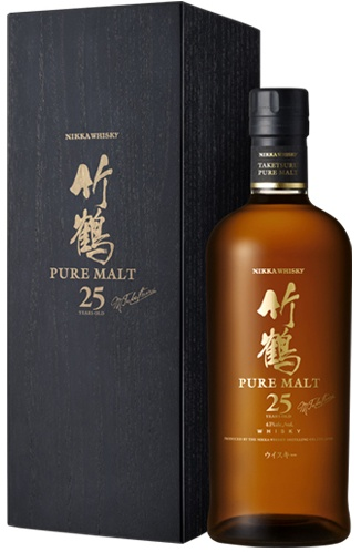 Taketsuru 25 year old ... This is a Fine Malt to savour, so please sip it slow to enjoy