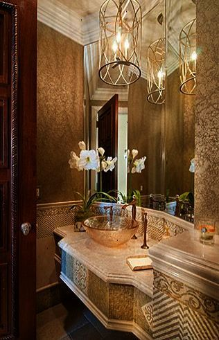 Detailed Powder Room Live The Good Life - All about Wealth ...