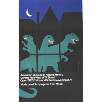 American Museum of Natural History Poster
