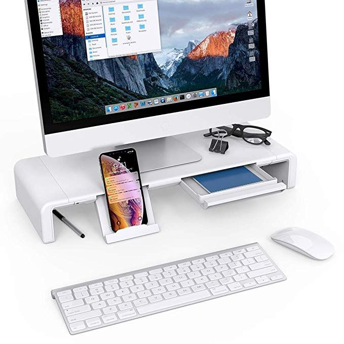 Foldable Monitor Stand Riser Klearlook Computer Monitor Stand With