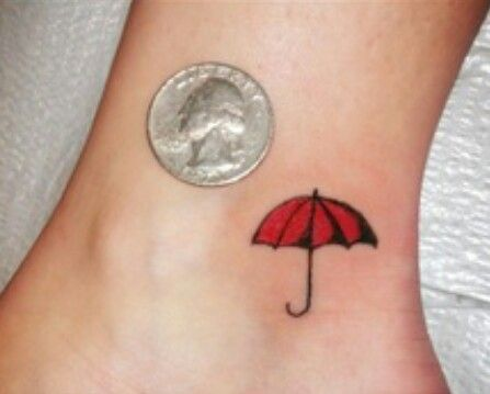 Cute little tattoo that reminds me of my time pretending to be Mary Poppins ;)
