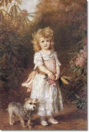 ✿⊱❥ Carl Bauerle - Helen Elizabeth Frederica Foster 1890