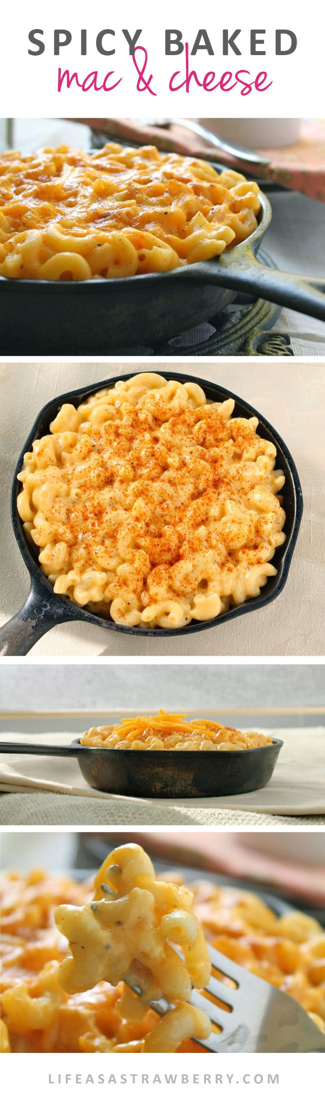 Spicy Macaroni and Cheese | Give your classic macaroni and cheese recipe a twist with this easy, slightly spicy cheese sauce - it's sure to be a hit!