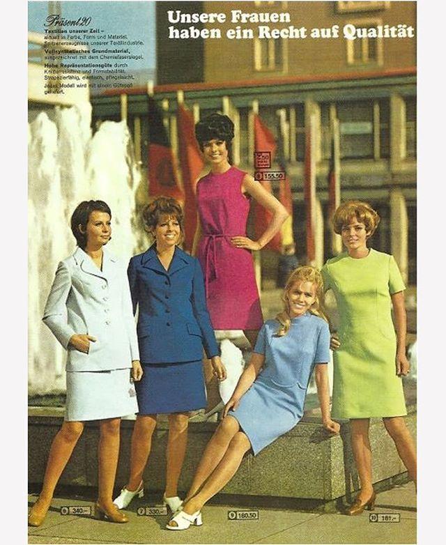 36dec36d91c42b Eine Seite aus dem konsument-Warenhaus-Katalog Sommer 1971. .  Present20  Präsent