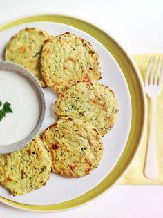 Pastelitos de calabacín y patata | Cocinar en casa es facilisimo.com