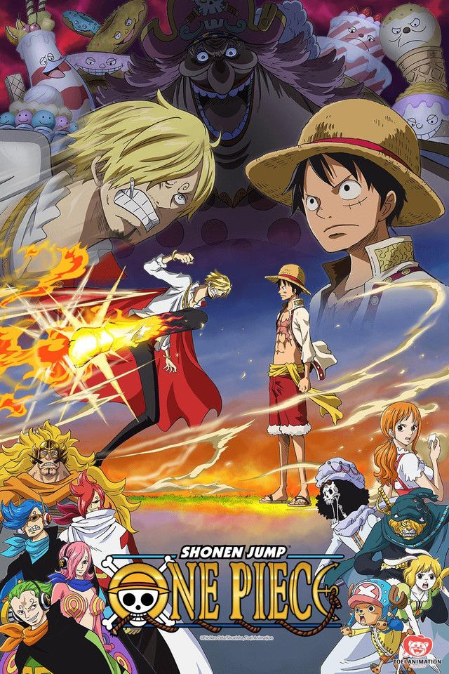 Crunchyroll One Piece Full episodes streaming online for