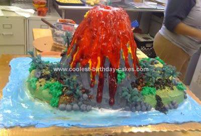 How To Make A Hawaiian Homemade Volcano 103