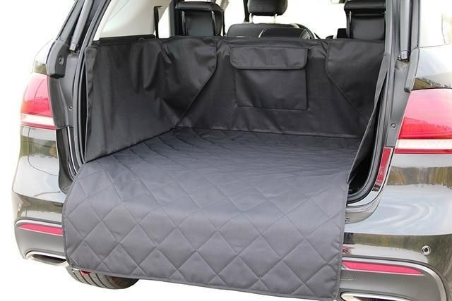 Waterproof Trunk Mat Dog Pets Cargo Liner Cover Non Slip Car Trunk