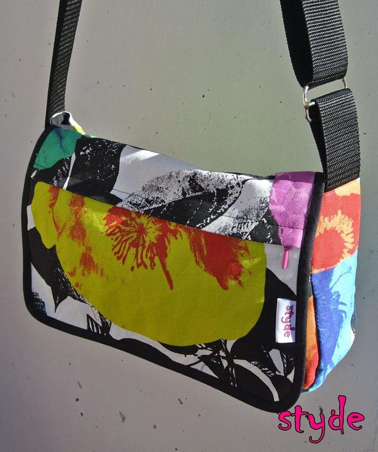 Shoulderbag #flower #cotton #handmade