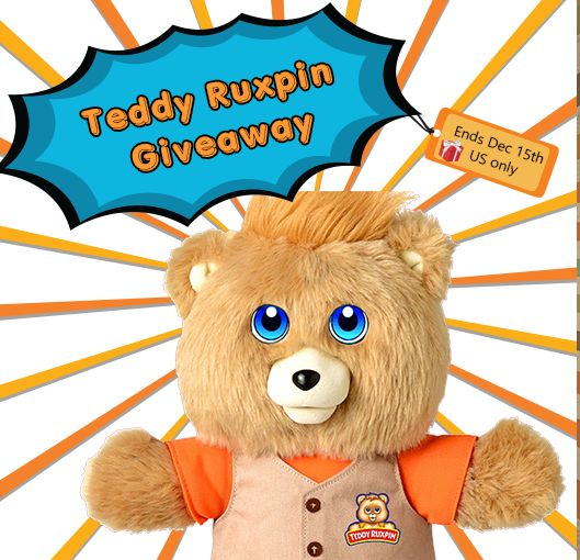 Enter to win a Teddy Ruxpin in time for the holidays!