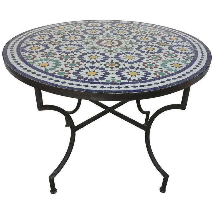 Best 25+ Mosaic tile table ideas on Pinterest | Mosaic ...