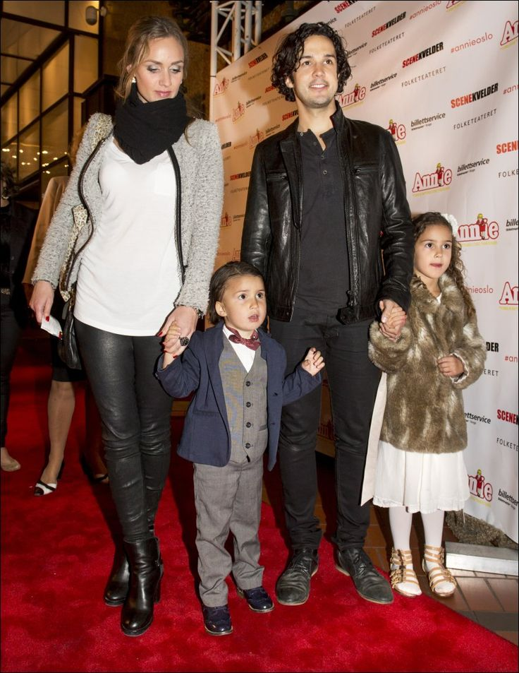 Vegard's family- his kids are so adorable