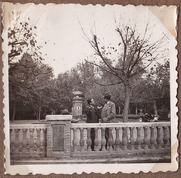 Parc de l'Obelisc. Parc Ribalta. Castelló. Al voltant de1930.