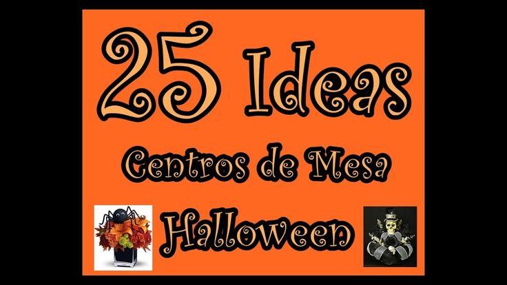 Las 25 mejores ideas sobre centros de mesa de halloween for Centros de mesa para halloween