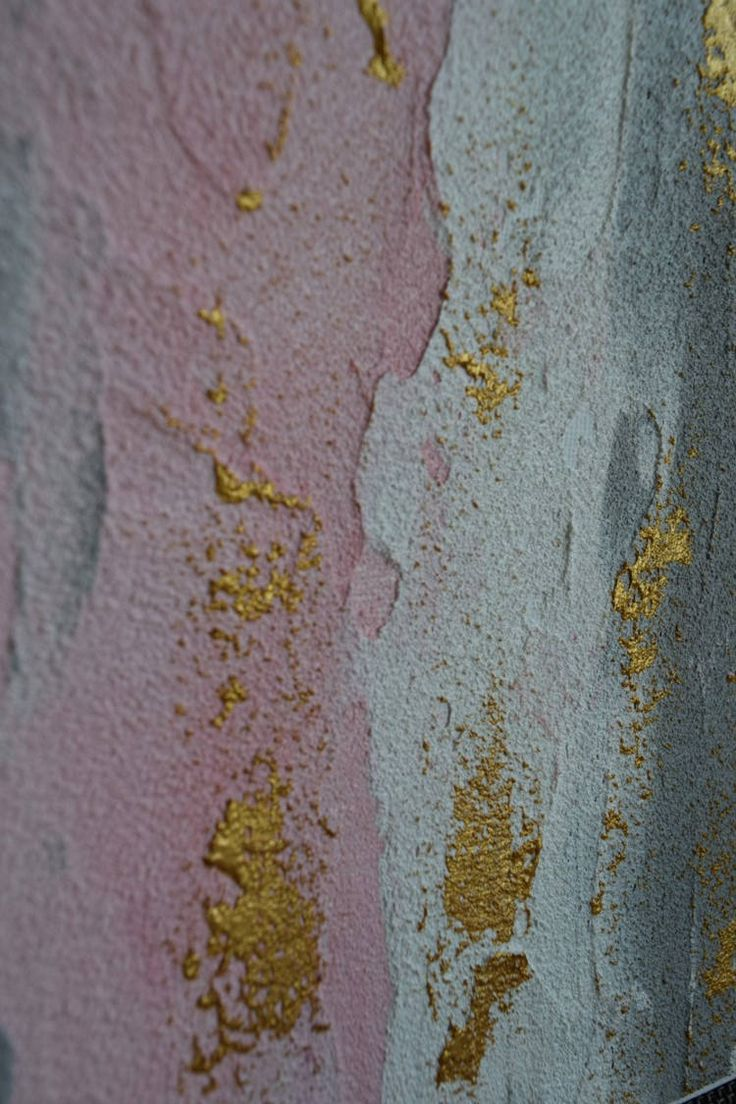 """FREE SHIPPING TO US/UK/AUS/CAN/NZ!  TITLE: """"Pink Terraces"""" DESCRIPTION: · Two (2) Matching 8x10"""" Original Abstract Art Pieces. · Stunning pastel palette: light magenta, light grey & white with metallic gold accents. · Gorgeous sandy texture with high gloss UV protectant varnish – utterly unique & gleaming! · Signed by artist on reverse. · FREE Shipping to US/UK/AUS/CAN/US (please enquire if your country is not listed).  Frames not included. Phot..."""