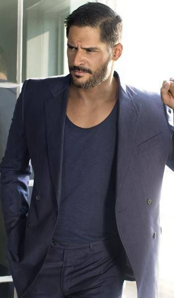 "Joe Manganiello Born: December 28, 1976 (age 37), Pittsburgh, PA Height: 6' 5"" (1.96 m) Nationality: American Parents: Susan Manganiello, Charles Manganiello Siblings: Nicholas Manganiello"