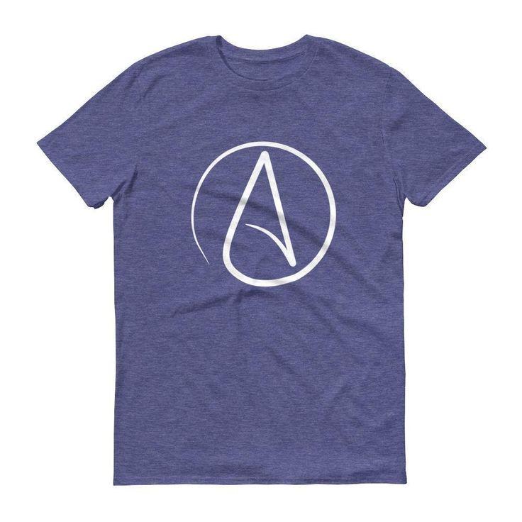 Men's Atheist symbol t-shirt