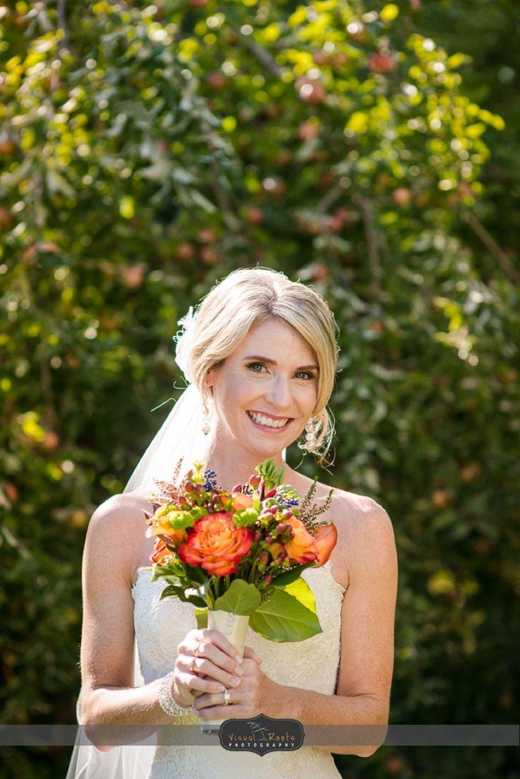 #VisualRoots #Bride #Floral #Wedding #Muskoka